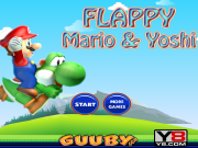 Flappy Mario Yoshi