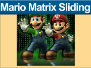 Mario Matrix Sliding